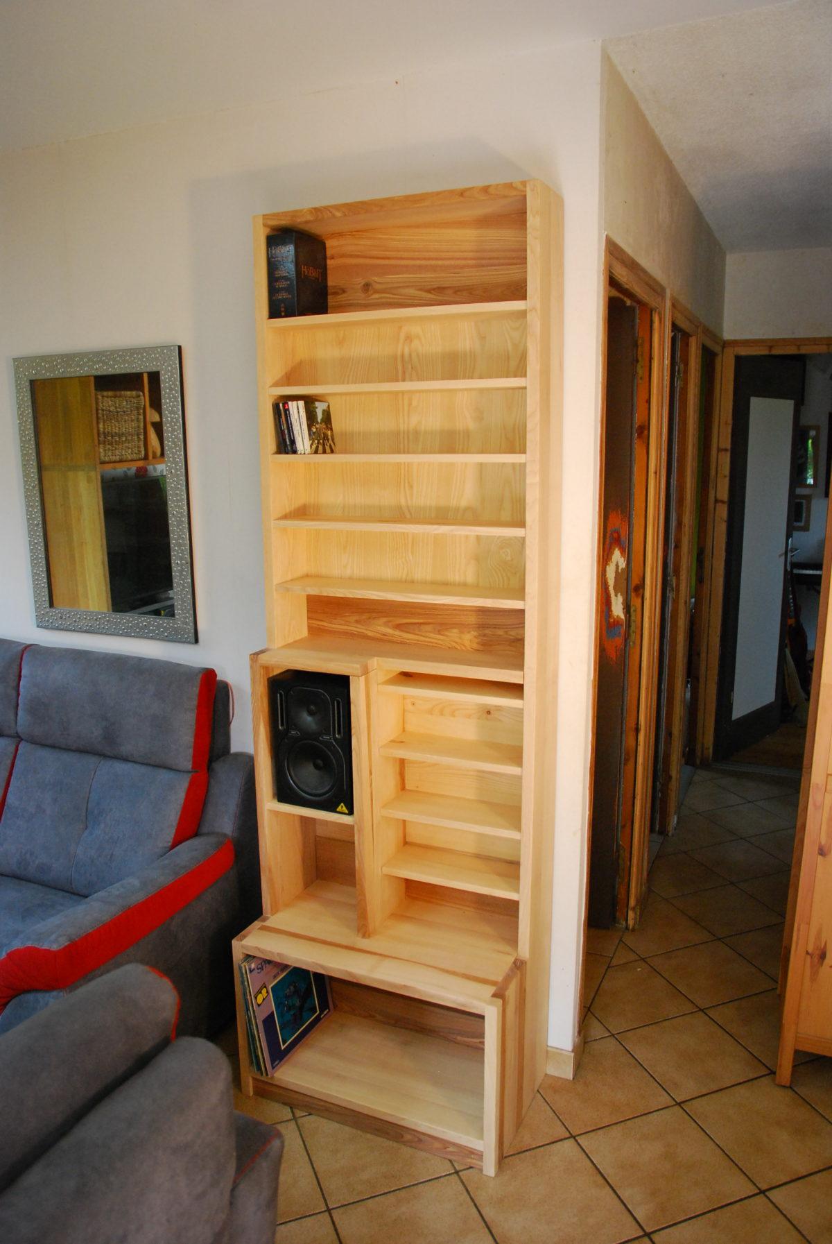 Un meuble colonne sur mesure